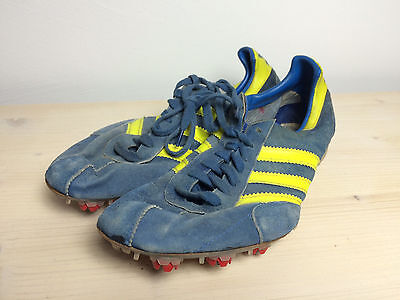 ADIDAS Hochspung High Jump Spikes EUR 39 US 7 True Vintage 80's Mint Condition!