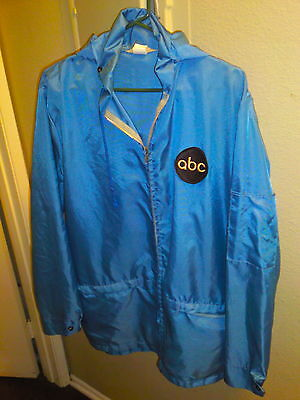 ABC NETWORK CREW JACKET - Authentic - Size Large - 1980