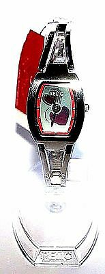 Fossil Relic Watch Ladies Twin Beating Love Hearts Animated Display Limited Ed
