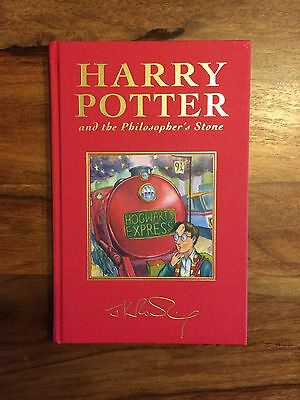 J K Rowling's Harry Potter and the Philosophers Stone Deluxe 1st Edition