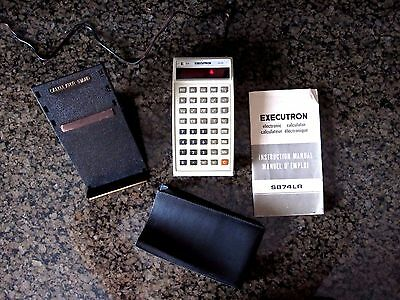 Executron-S874LR-Vintage-electronic-calculator