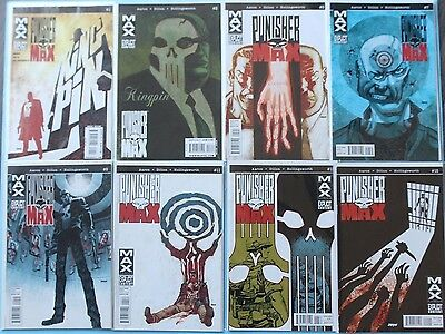PunisherMAX #1-22 EX/NM complete series - punisher max - jason aaron - marvel
