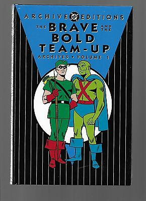The Brave and the Bold Team-Up Archives Vol 1 (Hardcover, DC) Sealed Never Read