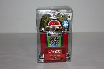 Coke and A Song Jukebox Salt & Pepper Shakers (Official Coca-Cola)- In Box