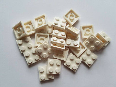 Part 3022 Element 4216695 Qty:25 New Lego Reddish Brown Plate 2x2