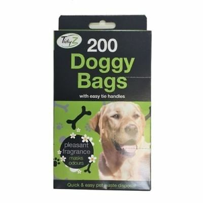Doggy Bags Scented Pet Pooper Scooper Bag Dog Cat Poo Waste Poop Dogs