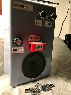 CoopBox 15 Spirit/Ghost Communication Box With KEYS Rare Paranormal Device