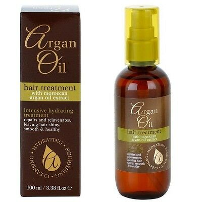 Argan Oil Hair Treatment With Moroccan Argan Oil Extract 100ml / 3.38 Oz New