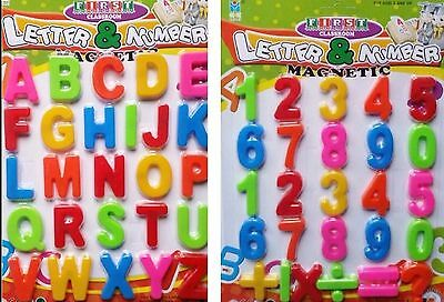 Magnetic Numbers and Letters Learning Toy Refrigerator Magnets Maths Alphabet