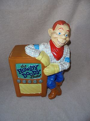 RARE: Treasure Craft Howdy Doody Cookie Jar. Limited, Numbered, Cert. Authencity