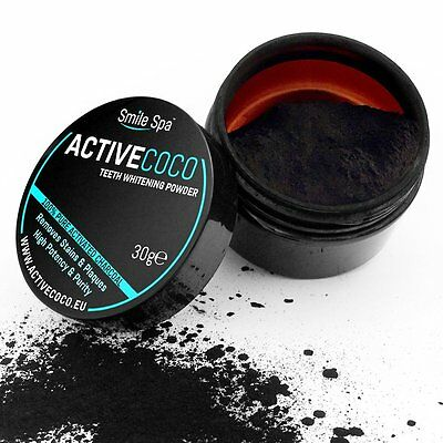 ActiveCoco | Kit pour blanchiment des dents au charbon actif | 30g