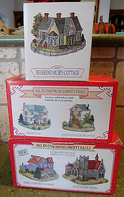 Liberty Falls Lot~Muir's Cottage~Henshaw House/Cottage~Seamstress~Mountain Churc