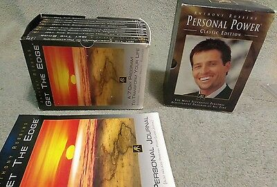 Anthony Robbins Personal Power Classic Edition & Get the Edge CD Set