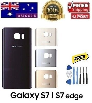 Samsung Galaxy S7 Back Rear Glass Housing Battery Cover Case + TOOLS