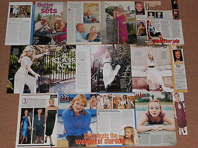 15+ SUSIE PORTER Magazine Clippings (B)