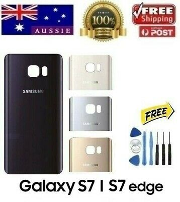 Samsung Galaxy S7 Edge Back Rear Glass Housing Battery Cover Case +TOOLS