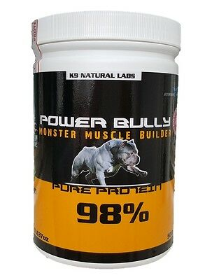 Monster Muscle Builder POWER BULLY 98% Protein 500g