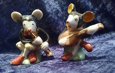 1930's Mickey Mouse Musician Salt & Pepper set made in Japan