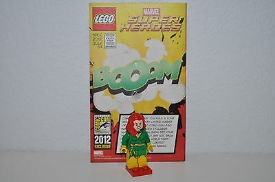 Lego Sdcc Comic Con 2012 Exclusive Phoenix Minifigure Dc Marvel New With Card