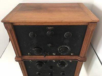 Ducretet Thomson 1927 Radiomodulateur Supermodula Poste Radio Tsf Ancien