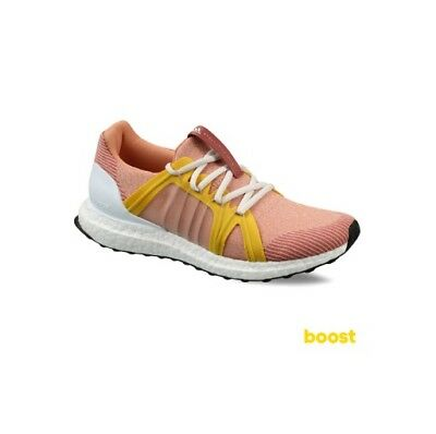 b2a6a609a384a Adidas Women s STELLA MCCARTNEY Ultra Boost Running Training Pink Beige  CG3684