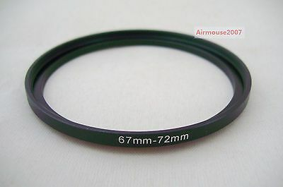 67-72 67mm-72mm Step Up Ring Adapter 67mm Lens To 72mm Accessory Filter Hood