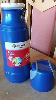 Bouteille isotherme,  Thermos, 0,5 L, bleu