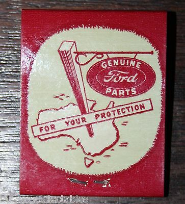 Ford Rare Matchboox  Unused 1960's Each match stamped
