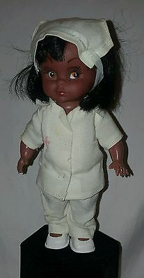 Antique Black Americana Red Cross Nurse Doll