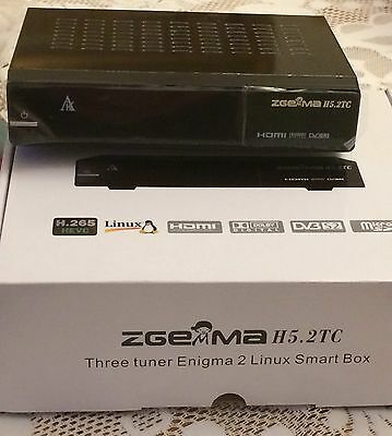 ZGEMMA H5.2TC HD TRIPLE TUNER RECEIVER and 32gb USB with 12 month warranty