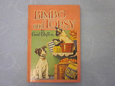 BIMBO AND TOPSY by Enid Blyton Vintage 1969 Dean & Son Hardcover #23 Rewards