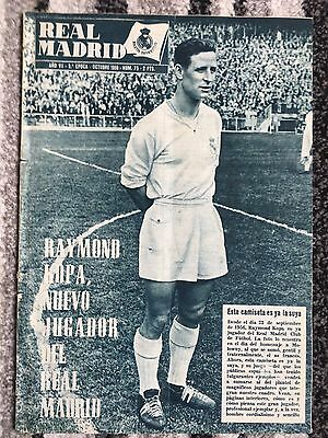 1956 Real Madrid Revista October 1956