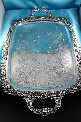 Magnificent Large Antique Silver Plated Tray 1890's - 1910's