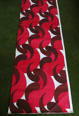 """Francis Price cotton crepe 60s / 70s   66"""" x 48"""" -photo shows half of width MINT"""