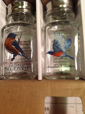 Blue Birds Salt & Pepper Shakers New In Box By American Expedition