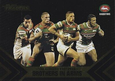 2014 Esp Traders - Burgess Brothers In Arms B1 - Rabbitohs