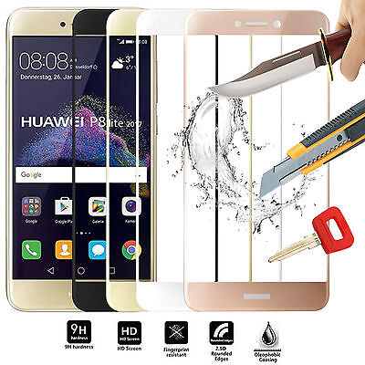 3D FULL Tempered Glass Screen Protector For Huawei P9+ P10 P8 P10 Honor 9 8 6X