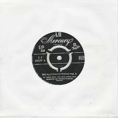"""The Platters"""" The  Platters Favorites Vol 2"""" 7"""" Ep"""