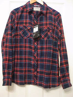 New with tags Crag Hoppers Ladies Valemont Shirt Size 14 cost £35.00