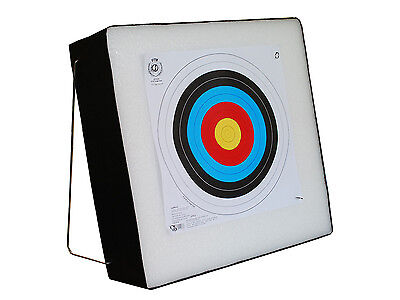 Archery Foam THICK Target Self Healing with Aluminium Stand  59,8 x 59,3 x19,7cm