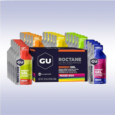 GU SPORTS ULTRA ENDURANCE ROCTANE ENERGY GEL (1 BOX / 24-PACK) amino acids