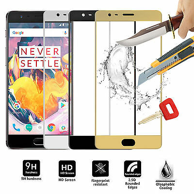 FULL Cover 3D Tempered Glass Front Cover Screen Protector For OnePlus 3 3T