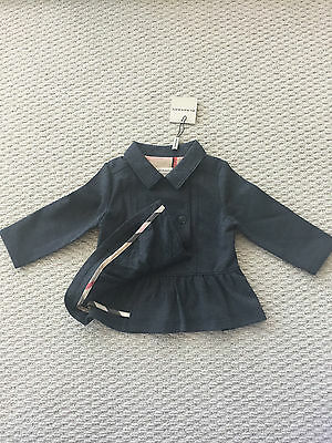 BNWT $460 Burberry Baby Winter Autumn 2017 Jacket 12M 1Y 100% Authentic