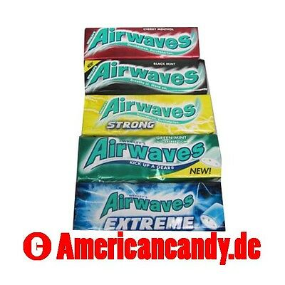 200 Airwaves cherry mint, Black mint, green mint, cool Fruit Auswahl (64,25€/kg)