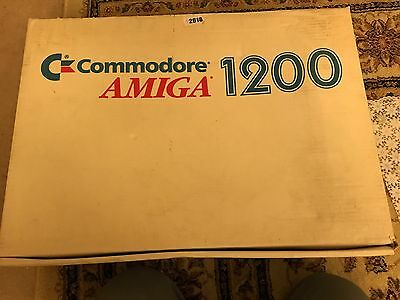 Commodore Amiga A1200 1200 Boxed Computer