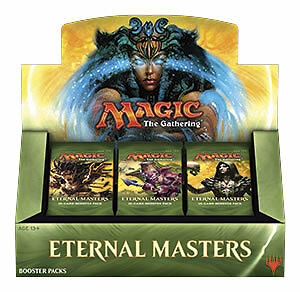 MTG Eternal Masters Factory Sealed 24 Packs