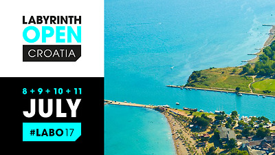2 x Tickets LABYRINTH OPEN CROATIA Saturday 8th July - Tuesday 11th July 2017
