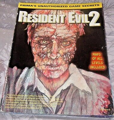 Resident evil 2 prima unofficial guide FAIR condition rare