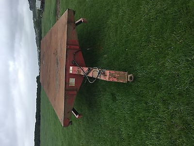 24 foot bale trailer flat bed plant