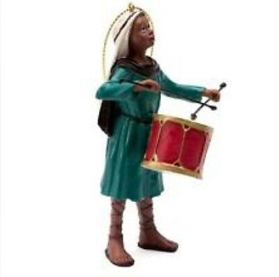 New Holiday Living New African American Black Drummer Boy Christmas Ornament